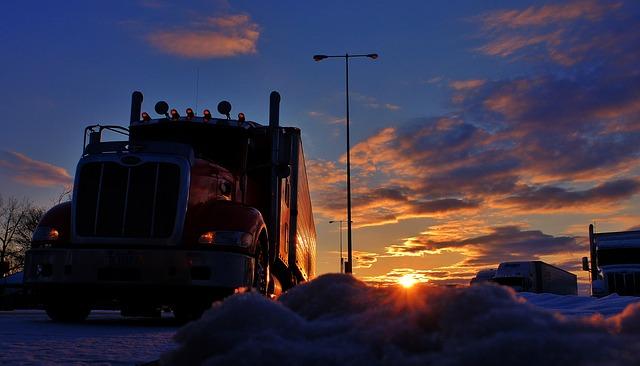 camion moteur diesel